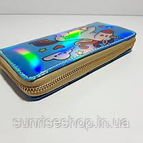 Дитячий гаманець для дівчаток лакований, фото 2