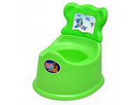 Горшок детский со спинкой 25-002 Kinderway
