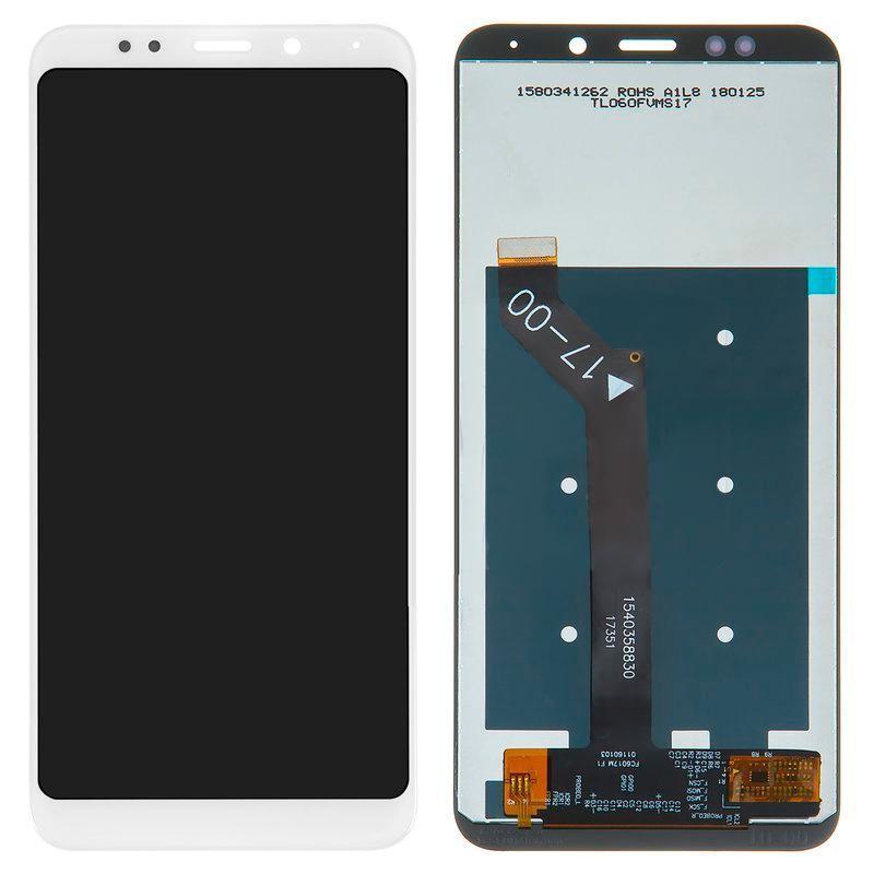 Дисплейный модуль LCD Xiaomi Redmi 5 Plus + touch White