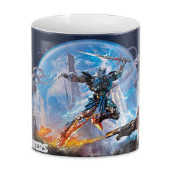 Кружка с принтом Трансформеры Transformers The Last Knight TF.002.14