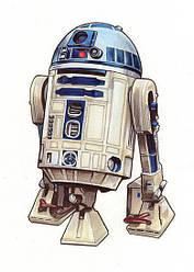 Картина GeekLand Star Wars Звёздные R2D2 40х60см SW.09.035