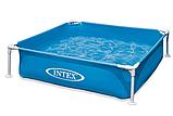 Детский бассейн каркасный. Размер 122х122х30. Объем воды 340 л. Intex 57173, фото 3