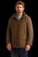 Мужская весенняя куртка FiNN FLARE B19-22016-601 темно-коричневая