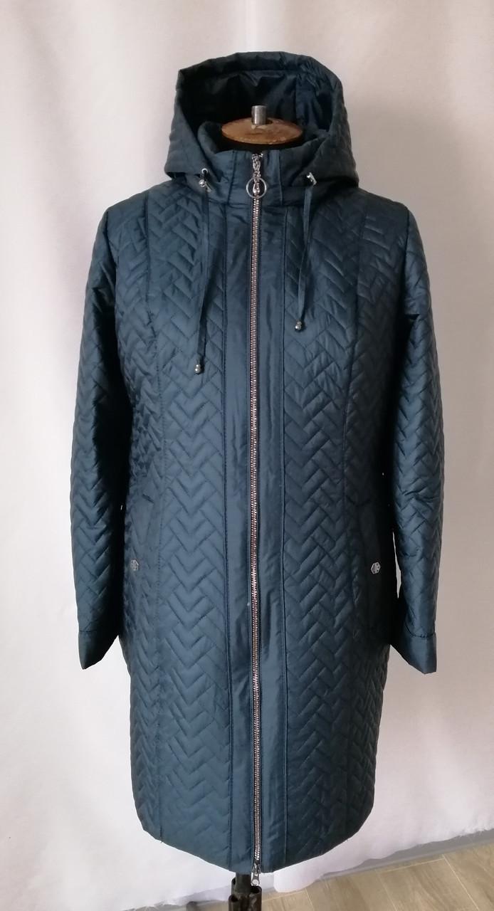 Женская куртка большого размера от производителя  54-68  волна