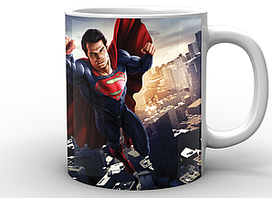 Кружка GeekLand белая Супермен Superman Супермен SP.02.001