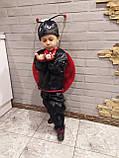 Карнавальный костюм божьей коровки мальчика, фото 7