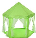 Детская игровая палатка. Три цвета. ДхШхВ-140-140-135 см. Материал: металл+текстиль.  M 6113, фото 3