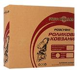 Детские роликовые коньки A 4123-S-PGR Profi. Размер обуви: 31, 32, 33, 34. Цвет: розово-зеленый, фото 3