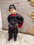 Карнавальный костюм божьей коровки мальчика, фото 2