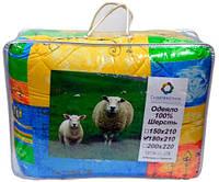 """Одеяло шерстяное """"Главтекстиль"""", двойное (180х210см), расцветка в ассортименте"""
