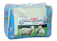 """Одеяло """"Уют"""" мех овчины, 180х210см, расцветка в ассортименте"""
