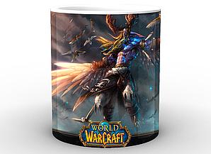 Кружка GeekLand World of Warcraft Мир Военного Ремесла среди птиц WW.02.49