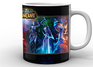 Кружка GeekLand World of Warcraft Мир Военного Ремесла персонажи WW.02.52