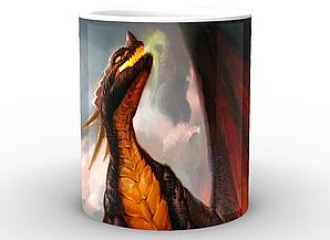Кружка GeekLand World of Warcraft Мир Военного Ремесла дракон WW.02.59