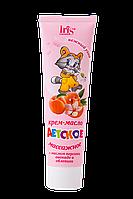 Крем-масло детское массажное с маслом персика 100 мл OST-0324