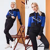 Женский спортивный костюм / двунитка / Украина 47-2298, фото 1