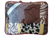 """Одеяло шерстяное двойное """"Люкс топ"""" (180х210см), расцветка в ассортименте"""
