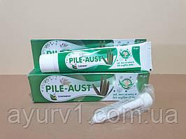 Аюрведическая мазь - геморрой /  Pile - Aust, Austro Labs LTD / Индия /  20 гр.