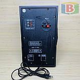 Музыкальный центр активная акустическая система + колонки Ailiang UF-618, 880W пульт, подсветка, фото 6