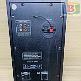 Музыкальный центр активная акустическая система + колонки Ailiang UF-618, 880W пульт, подсветка, фото 7