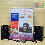 Музыкальный центр активная акустическая система + колонки Ailiang UF-618, 880W пульт, подсветка, фото 8
