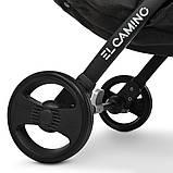 Детская прогулочная коляска книжка EL CAMINO M 3910 YOGA II CARMINE RED. Красный, фото 5