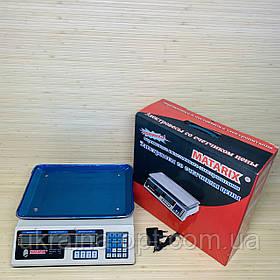 Весы торговые электронные Matarix 007 нагрузка до 50 кг