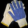 Перчатки белые Х/Б Польша, пара