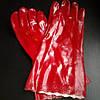 Перчатки красные БМС 35см, пара