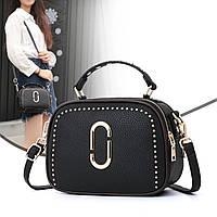 Маленькая женская модная сумка черная