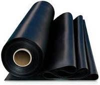 Пленка полиэтиленовая черная 50 мкм, вторичная (строительная)