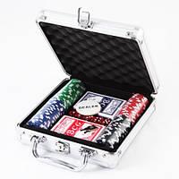 Покерный набор на 100 фишек №100