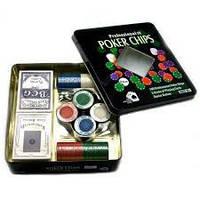 Покерний набір на 100 фішок №100 Т-2