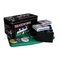 Покерный набор на 200 фишек «Техасский холдем» №200Т