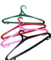 Плечики(тремпеля) для одежды плотные, цвета в ассортименте