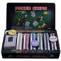 Покерный набор на 300 фишек с номиналом №300Т-Х