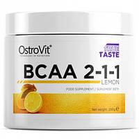 Аминокислоты OstroVit BCAA 2-1-1 200g