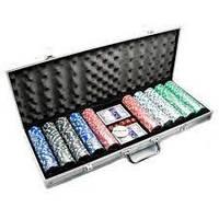 Покерный набор на 500 фишек №500