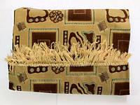 Покривало (дивандек) велюр, 140х200см, кольори в асортименті