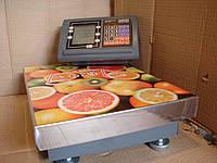 Электронные платформенные  весы OXI 150 кг усиленная платформа 300*400мм