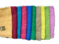 Полотенце махровое  40х70см, Индия, цвета в ассортименте