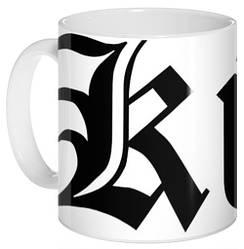 Кружка чашка черно-белая аниме Death Note №25