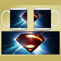 Кружка чашка Супермен