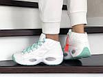 Жіночі кросівки Reebok (білі) 9020, фото 3