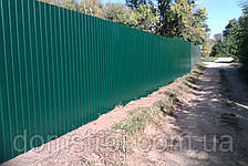 Забор из профнастила 1,8 м, фото 2