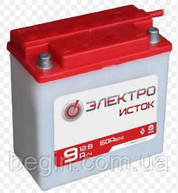 Мото аккумулятор Электроисток 6мтс 9