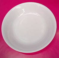 Тарелка пластиковая плоская d=19см