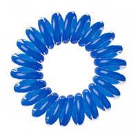 Резинка для волос синяя, 3шт