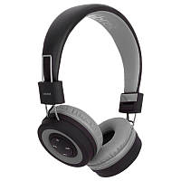 Беспроводные стерео наушники Headset Celebrat A4 Grey + mic + button call answering