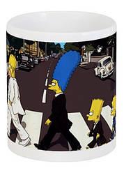 Кружка Симпсоны The Simpsons Mafia